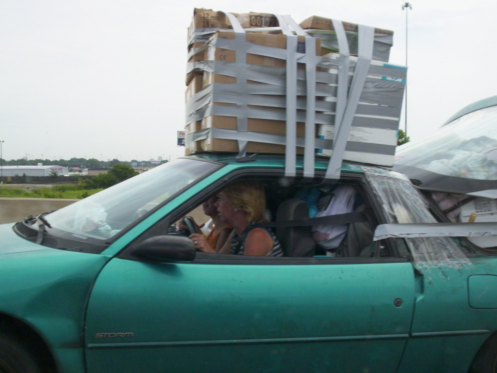 Duct Tape Moving Fail